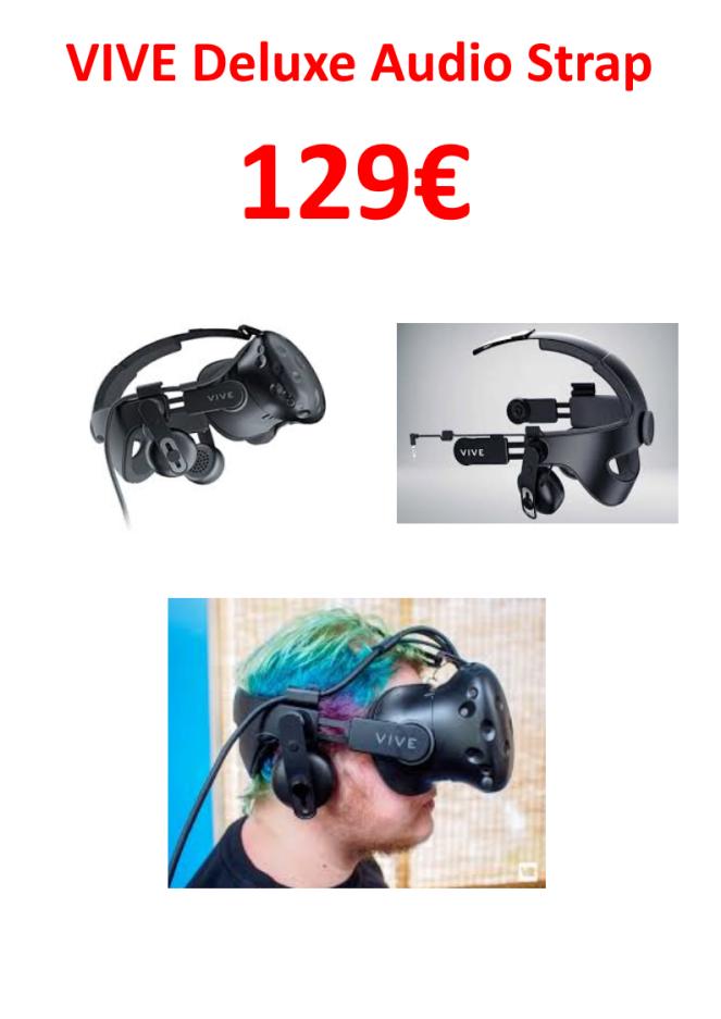 montage vive deluxe audio strap